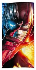 The Flash / Savitar / God Of Speed Hand Towel