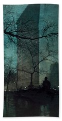 The Flatiron Building Bath Towel