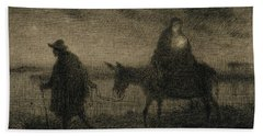 The Flight Into Egypt Hand Towel