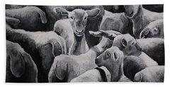 Flock 17 Bath Towel by Jean Cormier