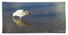 The Flying Narcissus Bath Towel
