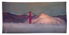 The Fog Hand Towel by Hanny Heim