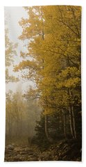 The Foggy Trail Beckons Hand Towel
