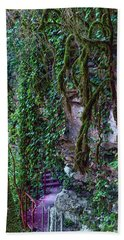 The Footpath In The Caucasus Mountains Bath Towel