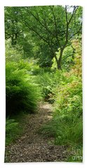 The Forest Path Bath Towel