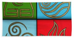 The Four Elements Hand Towel