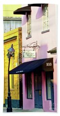 The French Quarter Wedding Chapel Hand Towel