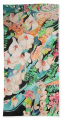 The Gallery Of Orchids 2 Bath Towel