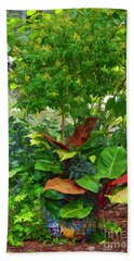 The Garden Hand Towel by Kathy Baccari