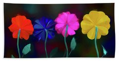 Bath Towel featuring the photograph The Garden by Paul Wear