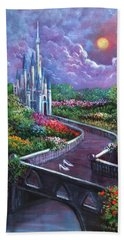 The Glass Slippers Hand Towel