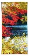 The Glory Of A New England Autumn Hand Towel