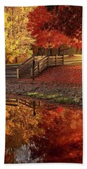 The Glory Of Autumn Hand Towel