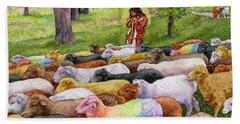 The Good Shepherd Bath Towel