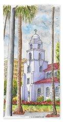 Good Shepherd Catholic Church In Beverly Hills, California Hand Towel