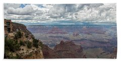 The Grand Canyon And Lookout Studio Bath Towel