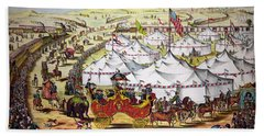 The Grand Layout, Chromolithograph 1874 Hand Towel