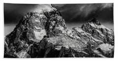 The Grand Teton Bath Towel by Gary Lengyel