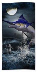 The Great Blue Marlin Bath Towel