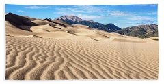 The Great Sand Dunes Of Colorado Bath Towel
