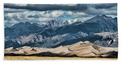 The Great Sand Dunes Panorama Hand Towel