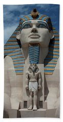Bath Towel featuring the photograph The Great Sphinx by Ivete Basso Photography