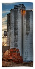 The Great Western Sugar Mill Longmont Colorado Bath Towel