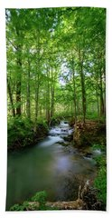 The Green Forest Hand Towel