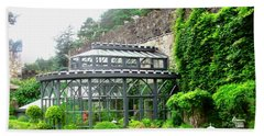 The Greenhouse At Glenveagh Castle Bath Towel