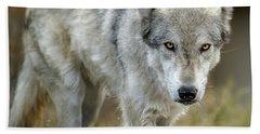 The Grey Wolf Shake Bath Towel