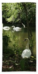 The Guard Swan Bath Towel