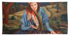 The Gypsy Fortune Teller Hand Towel