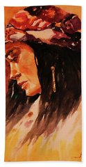 Gypsy Girl Bath Towel