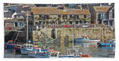 The Harbour Inn Porthleven Bath Towel