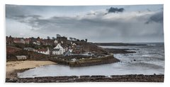 The Harbour Of Crail Hand Towel