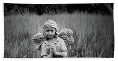 The Harvest Angel Bath Towel