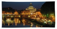 Eternal Sound Of Rome Hand Towel