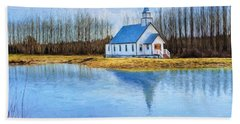 The Heart Of It All - Landscape Art Hand Towel