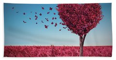 The Heart Tree Bath Towel