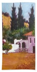 The Hidden Villa Bath Towel by Jim Phillips