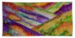 The Hills Are Alive Bath Towel