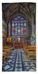 Bath Towel featuring the photograph The Holy Cross by Ian Mitchell