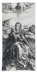 The Holy Family With The Mayfly Hand Towel