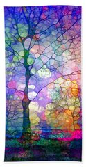 The Imagination Of Trees Bath Towel by Tara Turner