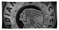 The Indian Motorcycle Logo Hand Towel