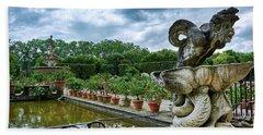 Inside The Boboli Gardens Of Firenze Hand Towel