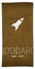 The Inventors Series 037 Goddard Hand Towel