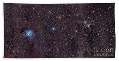 The Iris Nebula In Cepheus Hand Towel