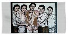 The Jacksons Five  Hand Towel