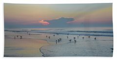 Hand Towel featuring the photograph The Jersey Shore - Wildwood by Bill Cannon